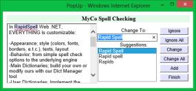 Spell Checking for Java Swing, JSP & JSF applications