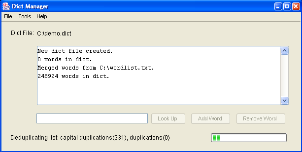 RapidSpell Desktop .NET Dict Manager