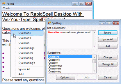 RapidSpell Desktop .NET 5.3 full